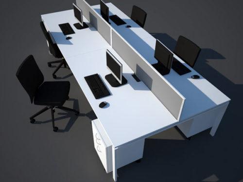 cluster desking officespec