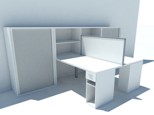 cluster desking officespec