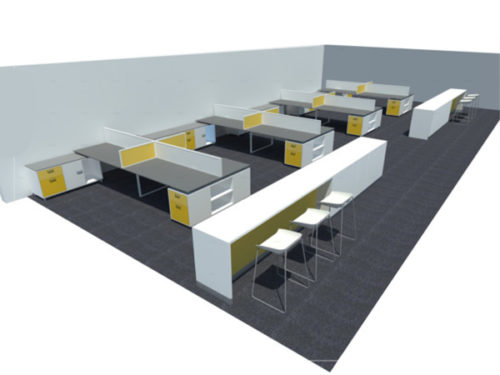 officespec cluster desking