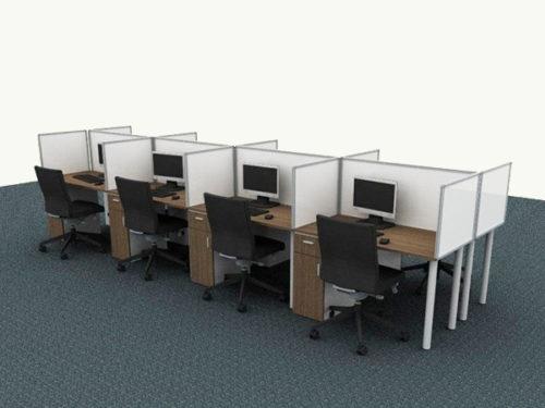 officespec cluster desking