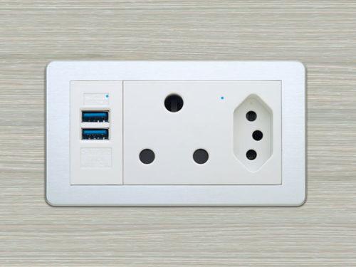 desk plug sockets
